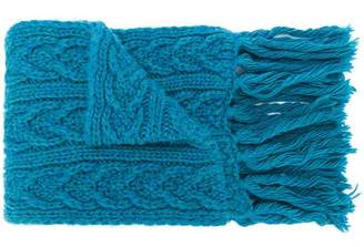Barena long chunky knit scarf