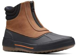 Clarks Gilby Cherry Waterproof Leather Boot