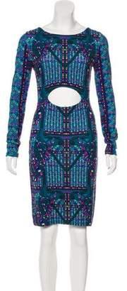 Mara Hoffman Long Sleeve Knee-Length Dress