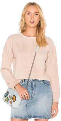 MinkPink Suede Sweater