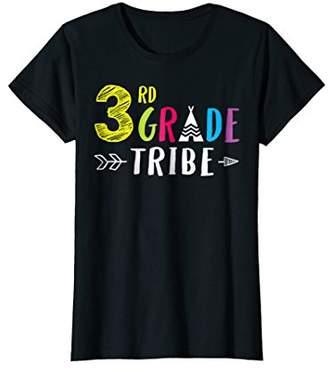 3rd Grade Tribe T Shirt Student Teacher Arrow Cute Back To