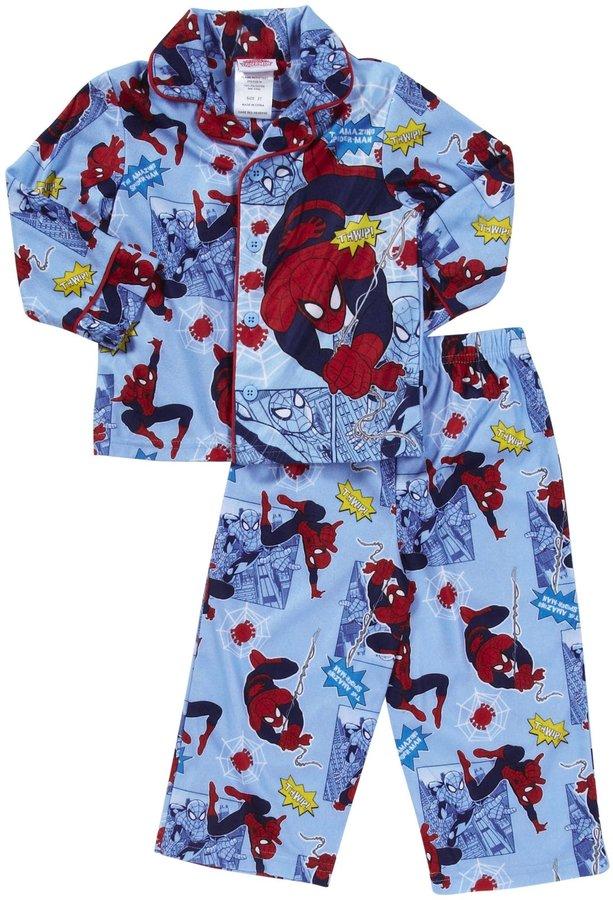 Spiderman Marvel Kids L/S PJ Set