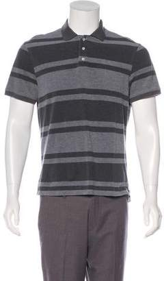 Isaia Striped Polo Shirt
