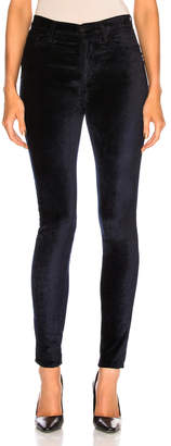 Cotton Citizen for FWRD Velvet High Rise Skinny