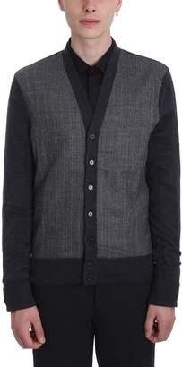 Neil Barrett Grey Wool Cardigan