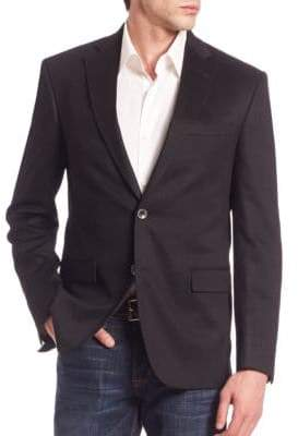 Saks Fifth Avenue COLLECTION Solid Cashmere Blazer