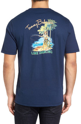 Tommy Bahama Line Dancing Graphic Tee (Big & Tall) $58 thestylecure.com