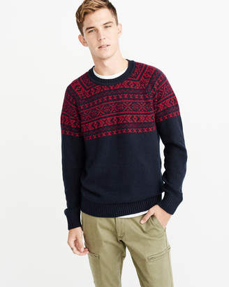 Abercrombie & Fitch Nordic Pattern Sweater