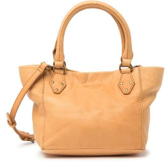 Baggu American Leather Co. Frenchie Convertible Mini Leather Satchel