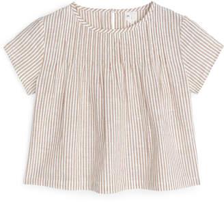 Arket Cotton Linen Blouse