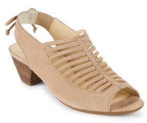 Paul Green Trisha Cutout Slingback Sandals $285 thestylecure.com