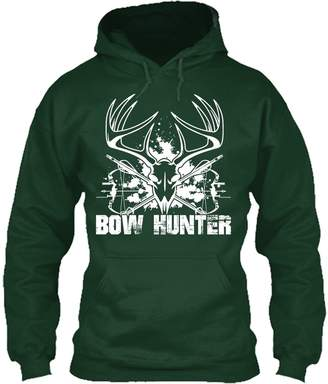 Hunter TeeZaa Hunting Tee Shirt - Bow Hunting Perfect T-Shirt Gift For Friends Hoodie (XXXL,Forest)