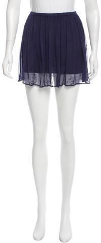 Chan LuuChan Luu Beaded Mini Skirt w/ Tags
