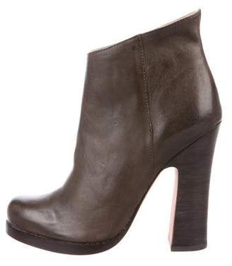 Jean-Michel Cazabat Leather Ankle Boots