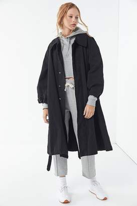 Urban Renewal Vintage Oversized Canvas Trench Coat