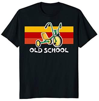 Old School Tricycle Bike Trike Toys T-Shirt Cool Cute