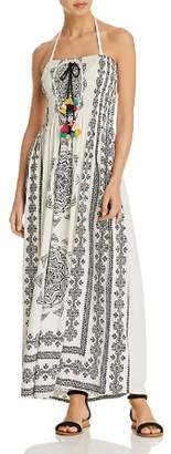 Surf Gypsy Long Medallion Dress Swim Cover-Up