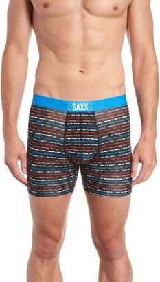 Saxx Vibe Morse Code Boxer Briefs