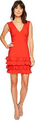 Nicole Miller Women's Stretchy Matte Jersey Sleeveless Dress