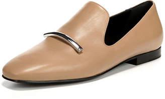 Via Spiga Tallis Flat Leather Loafers
