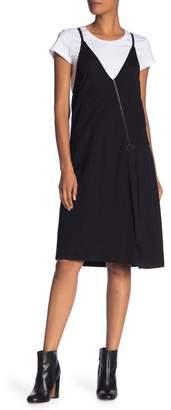 Kenneth Cole New York Twofer Zip Dress & Tee