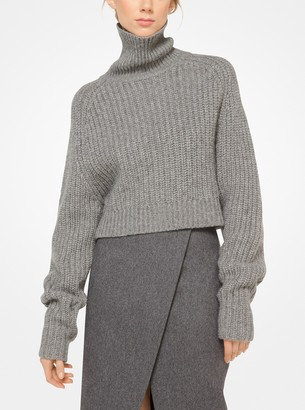 Michael Kors Wool Scissor Skirt