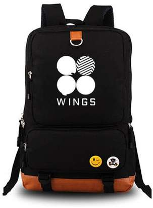 AUGYUESS KPOP Bangtan Boys BTS Luminous School Bag Daypack Bookbag Laptop Bag Backpack