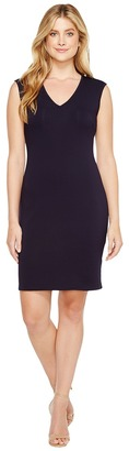 Christin Michaels - Leena V-Neck Bodycon Dress Women's Dress $69 thestylecure.com