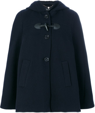 Twin-Set hooded cape $397.01 thestylecure.com