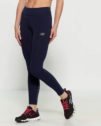 New Balance Logo Athletic Leggings