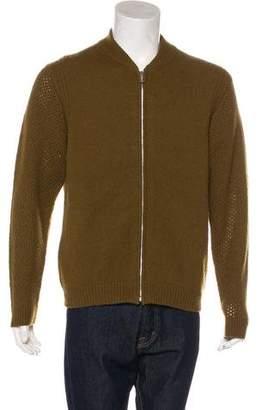 Paul Smith Wool Rib Knit Sweater
