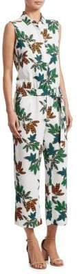Akris Punto Tropical Print Jumpsuit