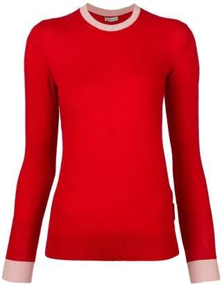 Moncler contrast colour sweater