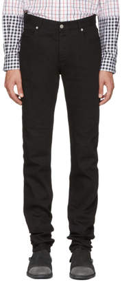 Maison Margiela Black Transparent Band Jeans