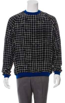 Haider Ackermann 2018 Printed Silk Sweater w/ Tags black 2018 Printed Silk Sweater w/ Tags