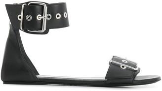 Balenciaga buckled flat sandals