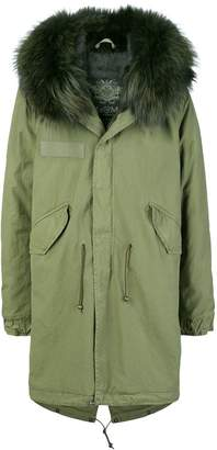Mr & Mrs Italy loose fitted parka coat