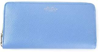 Smythson zip around wallet