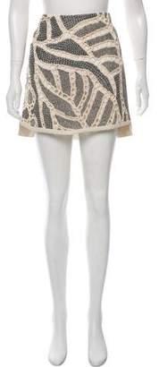 Maiyet Woven Mini Skirt