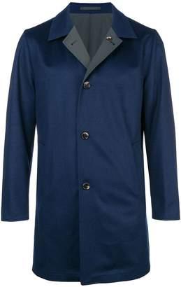 Kired single-breasted coat