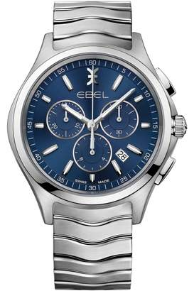 Ebel Mens Wave Chronograph Watch 1216344
