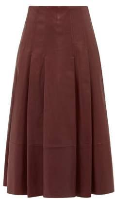 Sportmax Donata Skirt - Womens - Burgundy