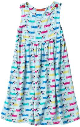 Funkyberry Dog Dress (Toddler & Little Girls)