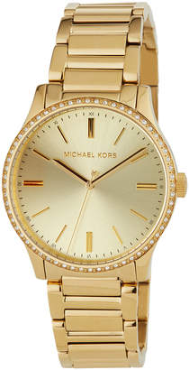 MICHAEL Michael Kors 38mm Bailey Bracelet Watch, Golden