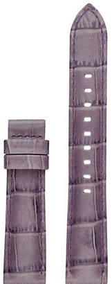Michael Kors Womens Sofie Purple Leather Strap