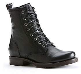 Frye Women's Veronica Leather Combat Boots