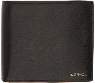 Paul Smith Black and Blue Straw Grain Wallet