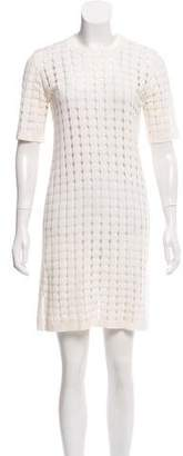 Calvin Klein Collection Short Sleeve Knee-Length Dress