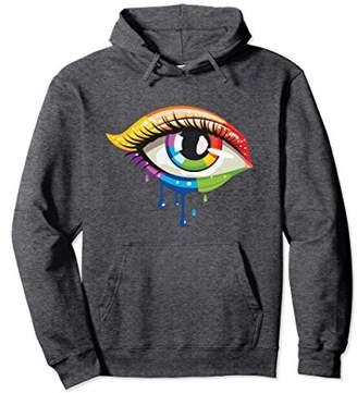 Graphic Eye Cool Womens Hoodie