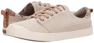 Reef - Walled Low TX Women's Lace up casual Shoes $55 thestylecure.com